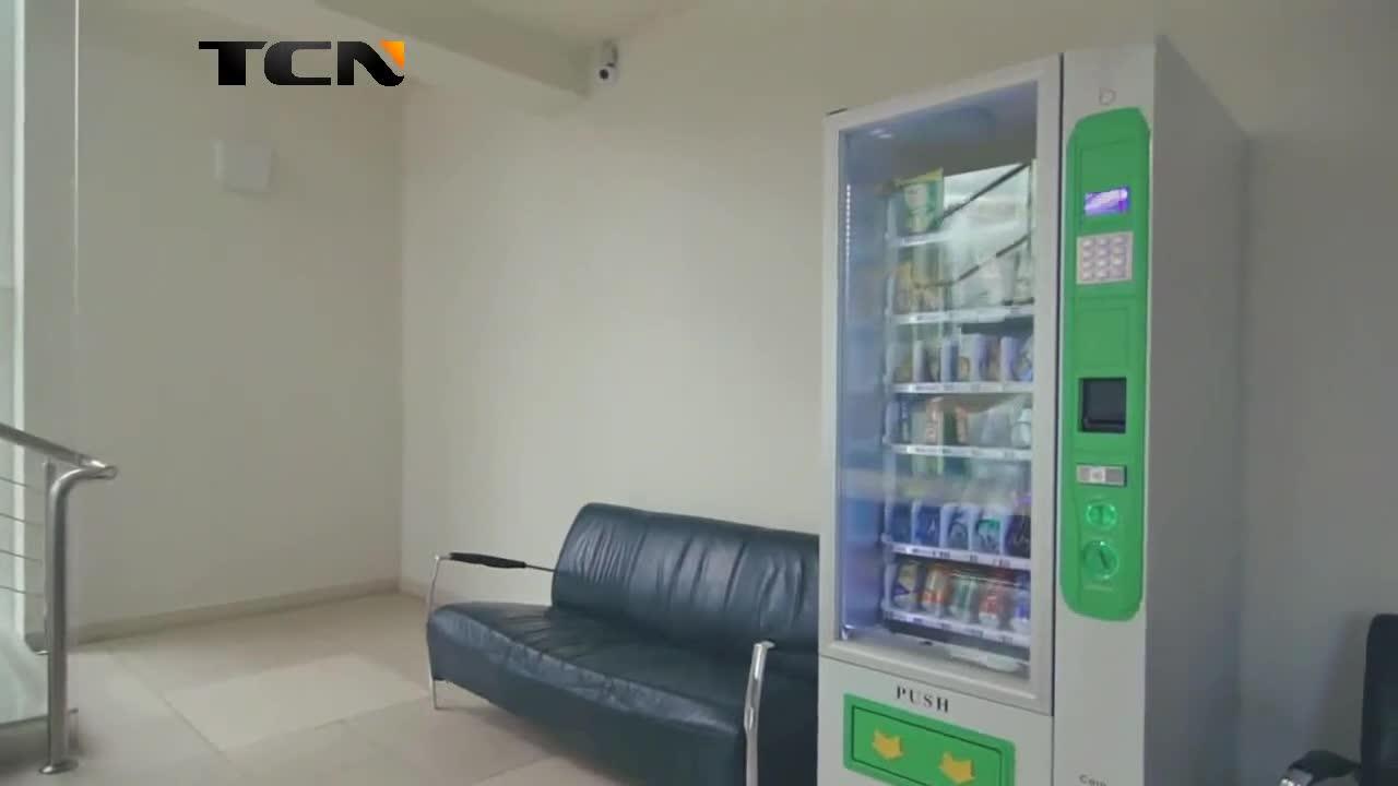 TCN smart 24 stunden self-service-automatische milch lebensmittel snack trinken automaten mit CE CB ISO9001