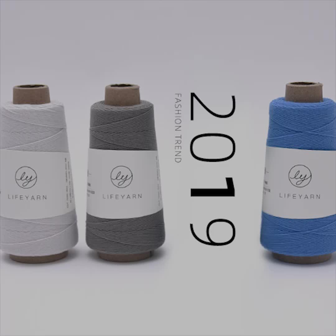 LOVEYARN Benang Tenun Tangan 50 Wol, Pemakaian Baru Tahun 50 Benang Tenun Tangan DIY untuk Sweater Syal Topi Benang Rajut Tangan