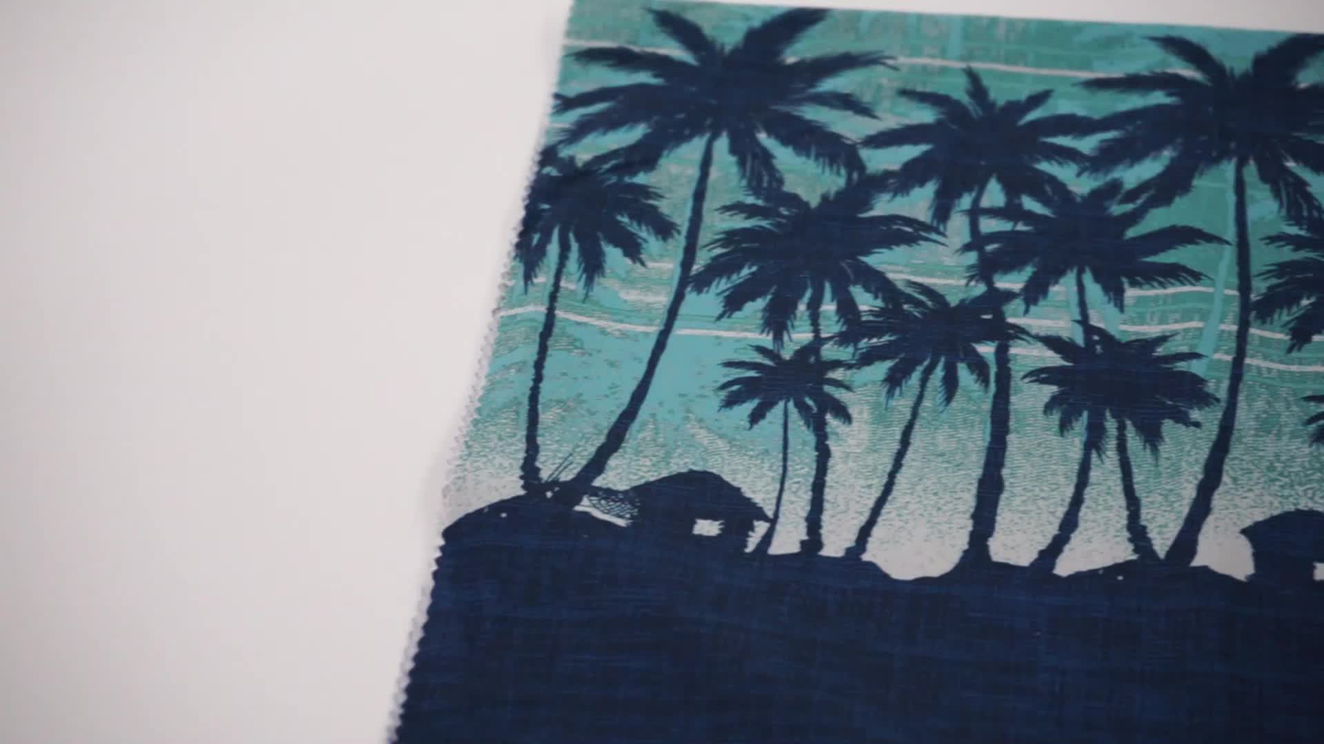 100 recycle  polyester microfiber fabric for boardshort