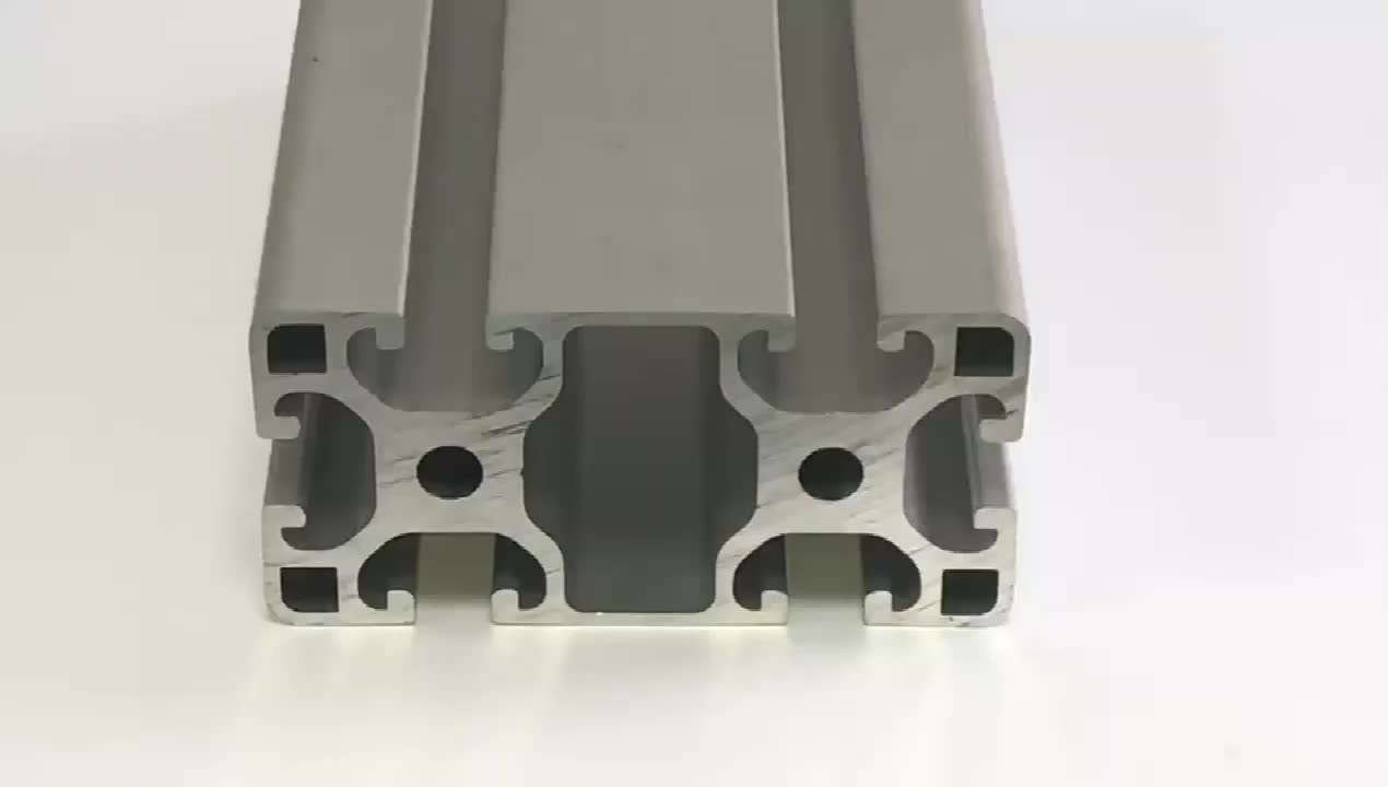 FP-2091 40*80L  6063 t-5 Anodizing Aluminium Profiles  extruded Aluminium Profiles