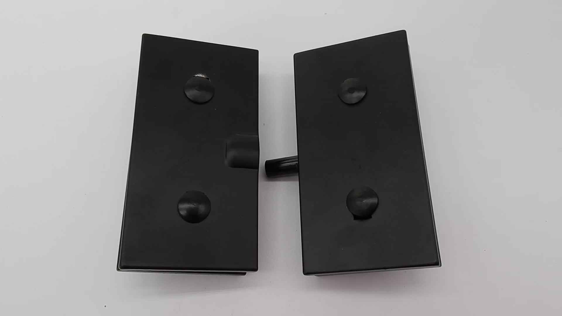 122 Aluminum Alloy Patch Fitting Hardware Bottom Door Clamp For Swing Door