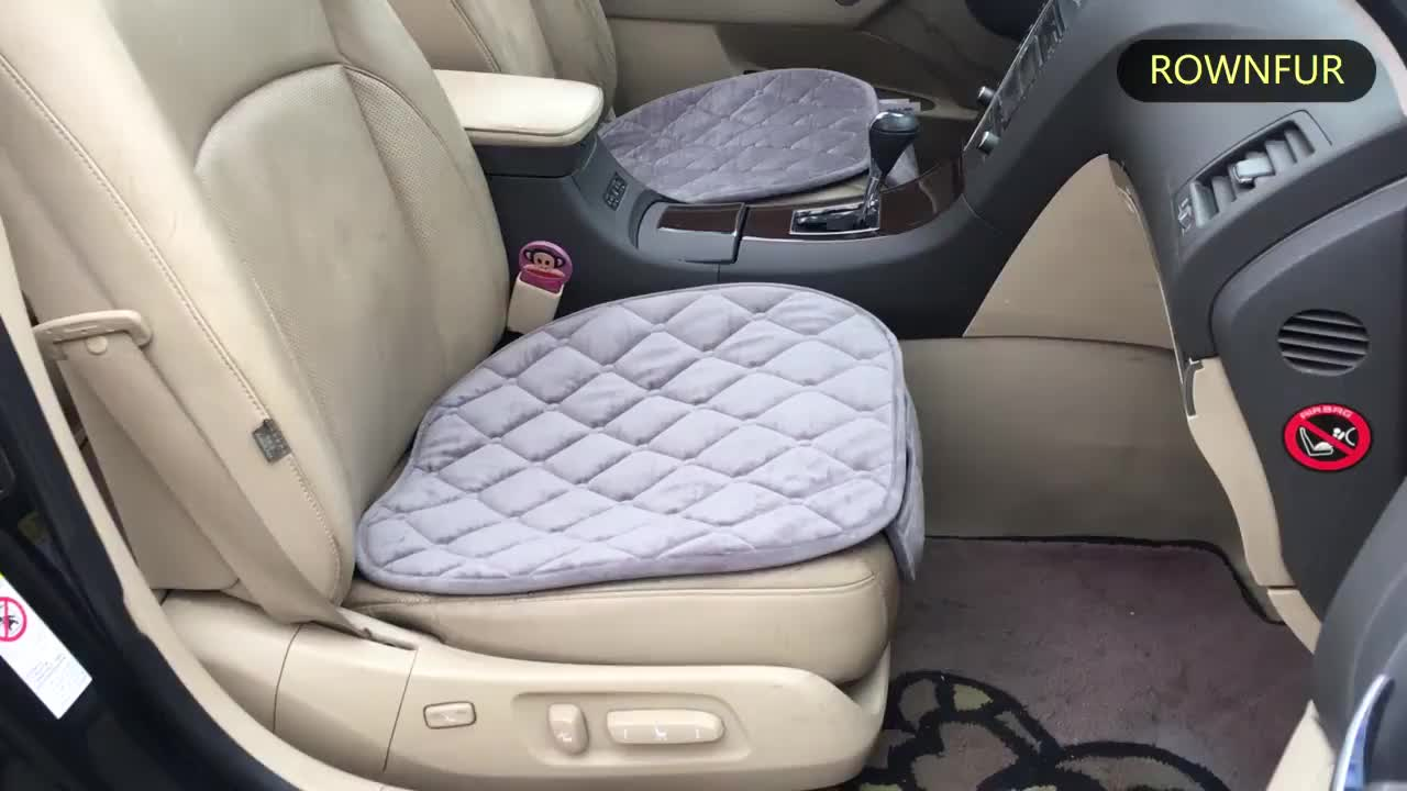 high quality low price velvet four season flannel car seat cover