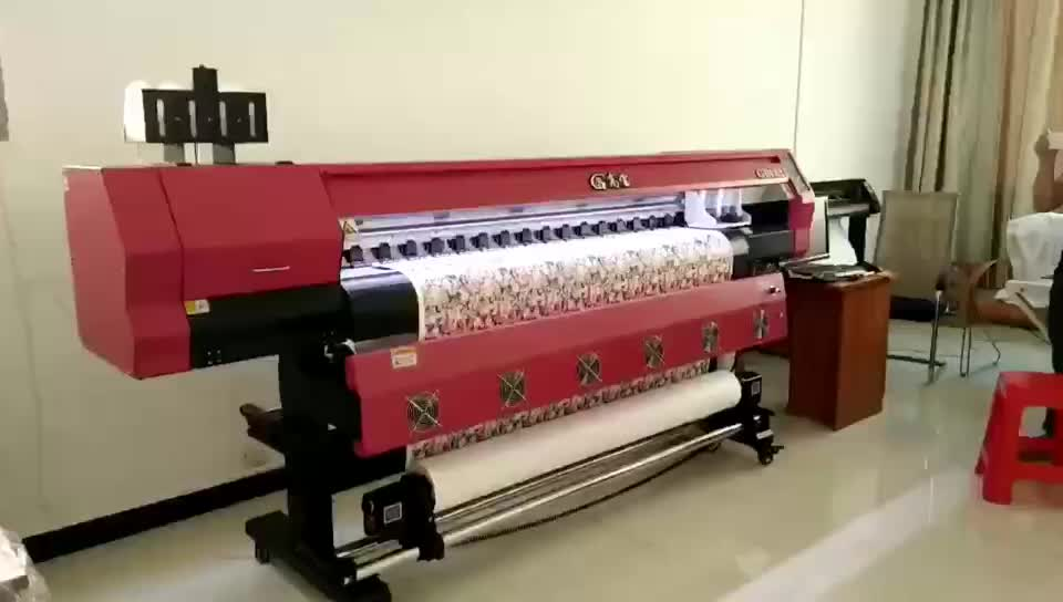 Hot Sale Eco Solvent Printer with Double  5113 Print Heads