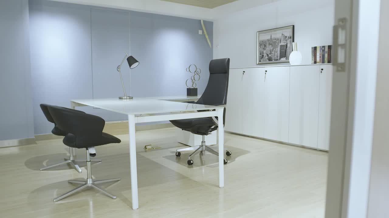 Moderne uitstraling luxe ceo glas type bureau