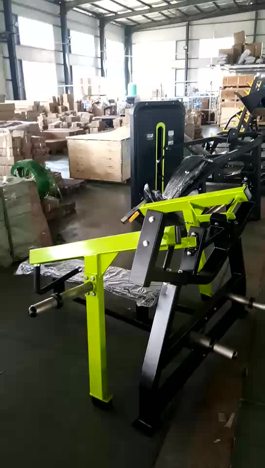 Ginásio high-end Máquina de equipamentos de ginástica sentado Chest Press