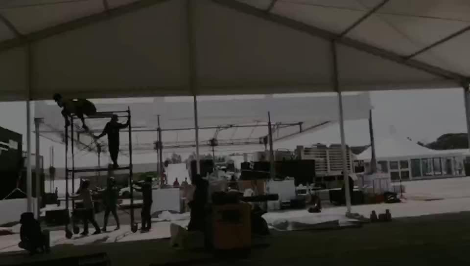 100 Keluarga Di Pesta Mewah Pernikahan Tenda untuk Dijual