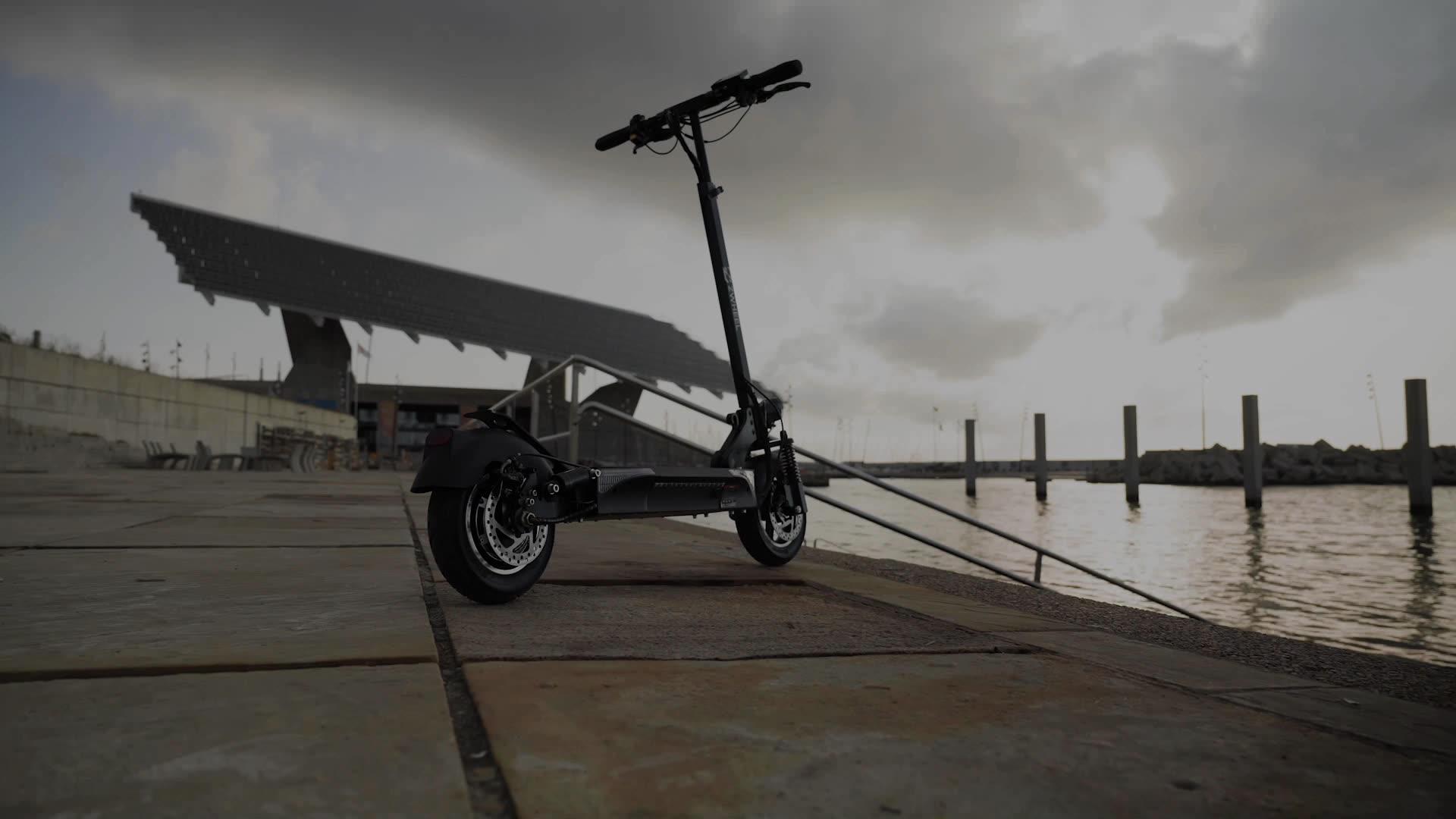2020 NOUVEAU Portable planche 2 roues scooter électrique pour adultes