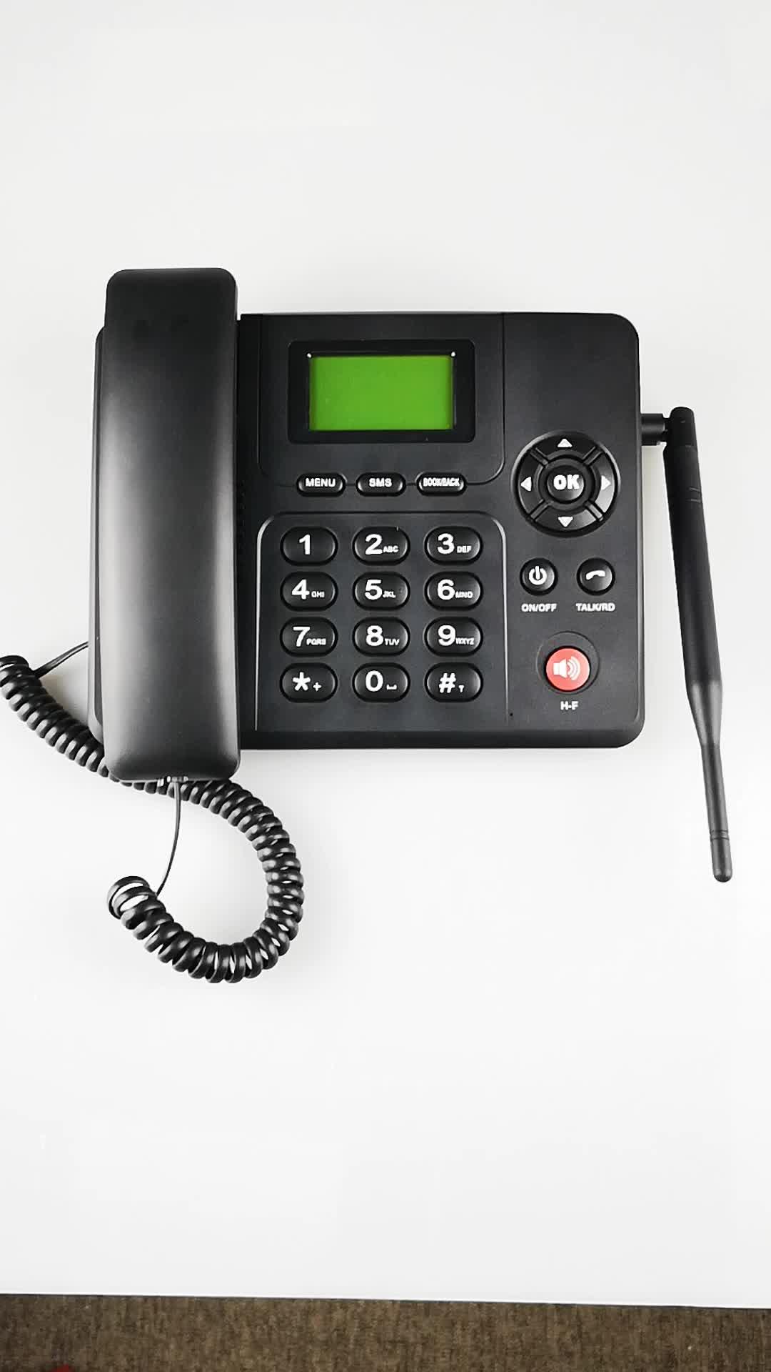 Etross ワイヤレス 3 グラム gsm デスクトップ電話 wcdma 壁マウント固定 ETS-6688