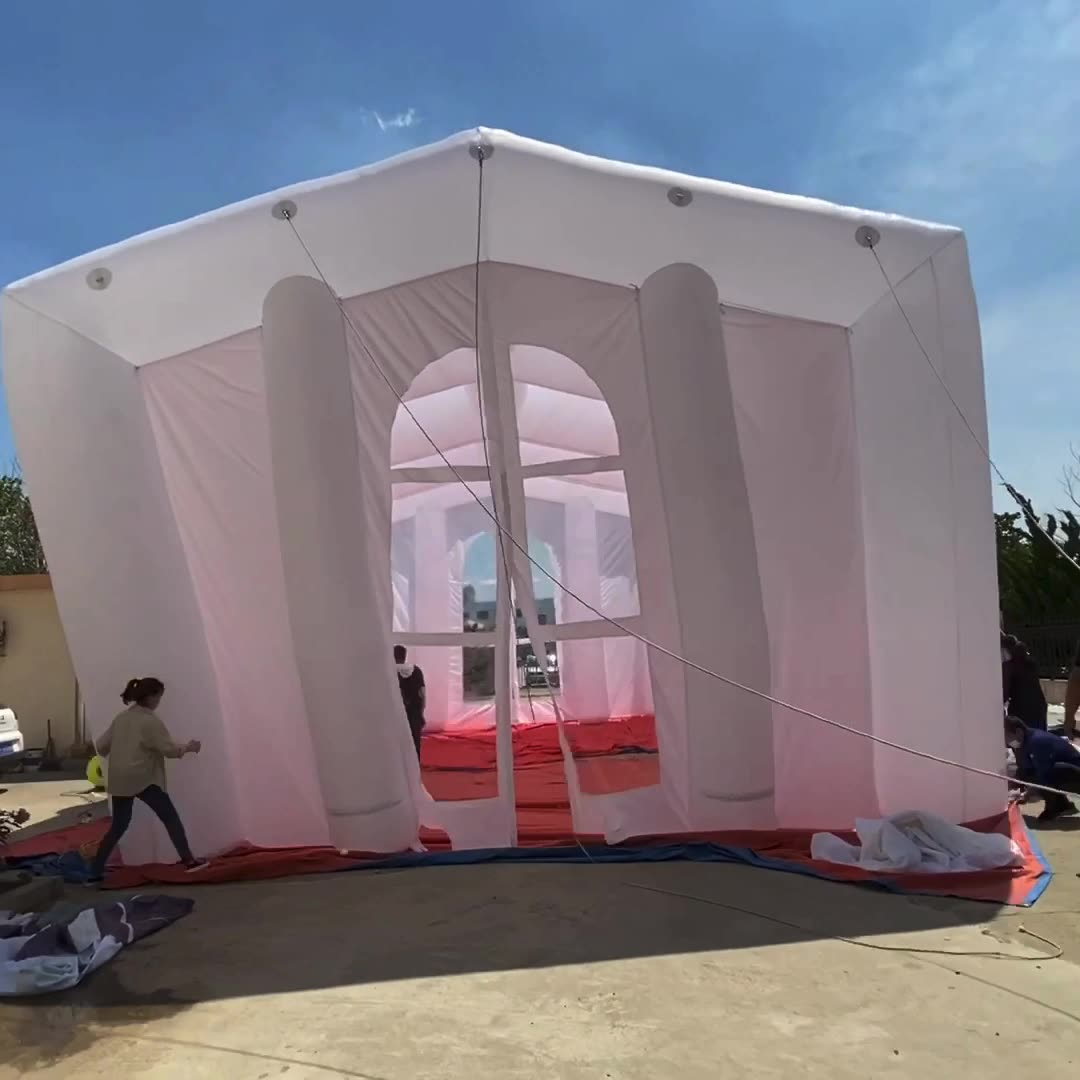 Inflatable Garage Paint Tent Car Truck Portable Spray ...