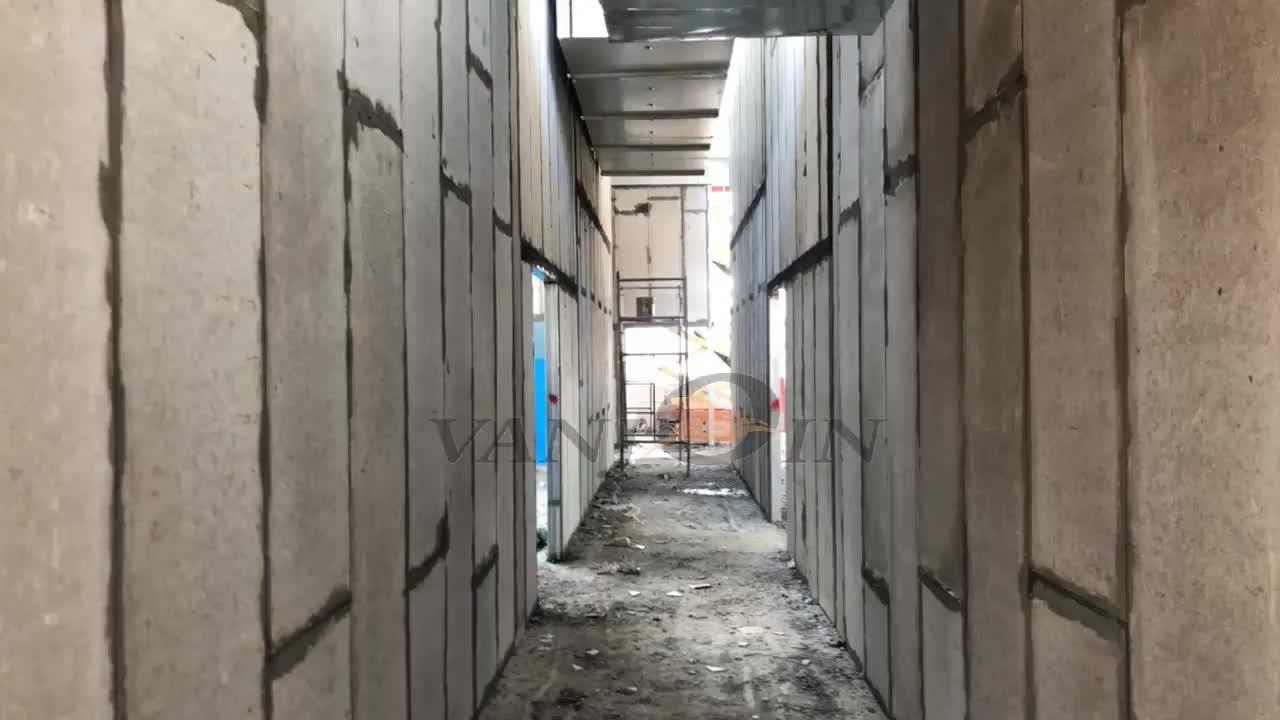 Syst me modulaire maison pr fabriqu e de panneau de mur en b ton buy panneau de syst me mural - Maison modulaire beton ...