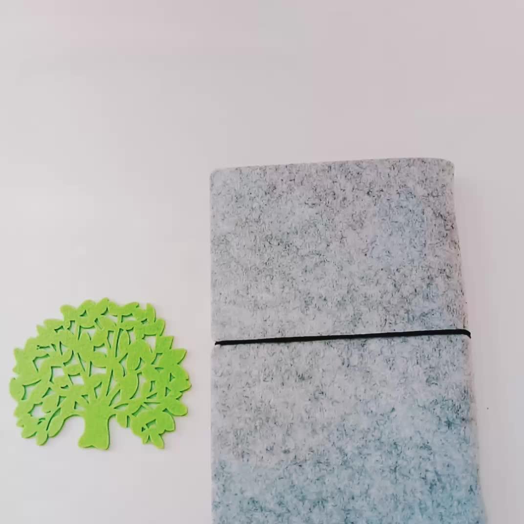 Vari colori bone forma EVA e feltro lavagna Magnetica eraser