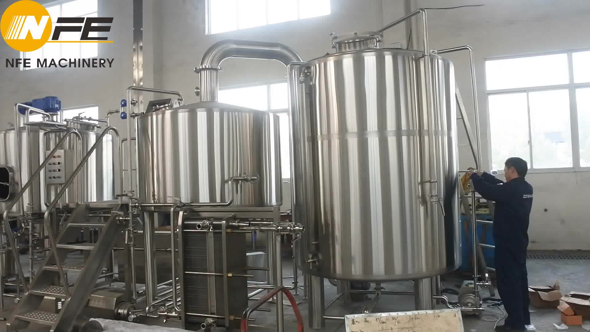 7BBL Electric Heating Brewhouse system and Beer Brew Kettle   Complete beer producing kettle   Nano beer brewing equipment