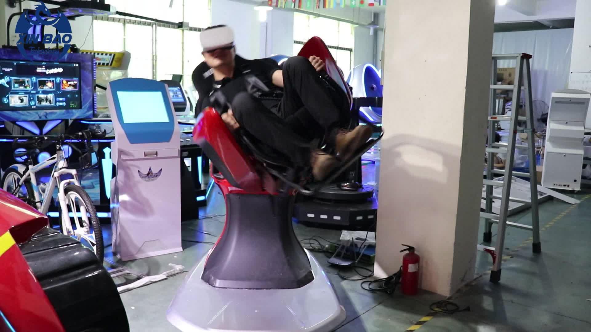 360 Grad-Achterbahn-9D VR-Stuhl-Flugsimulator zum Verkauf