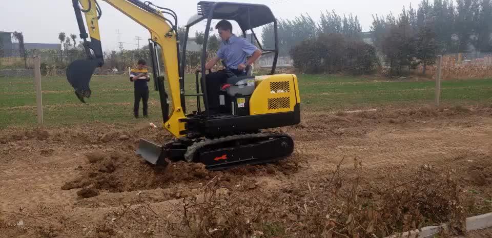 Idraulico faccia pala 1.8 ton mini escavatore prezzi filippine