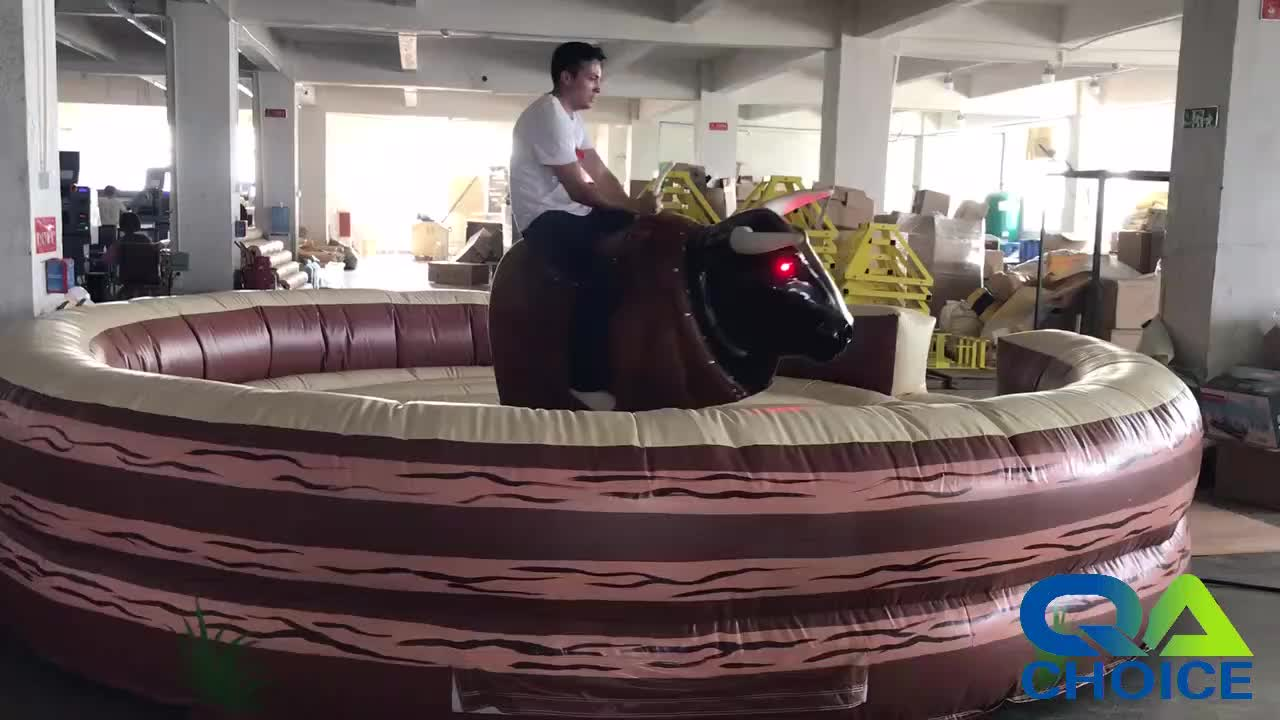 Hot Selling Competitive Factory Price Inflatable Mechanical Bull Rodeo Inflatable Mechanical Bull