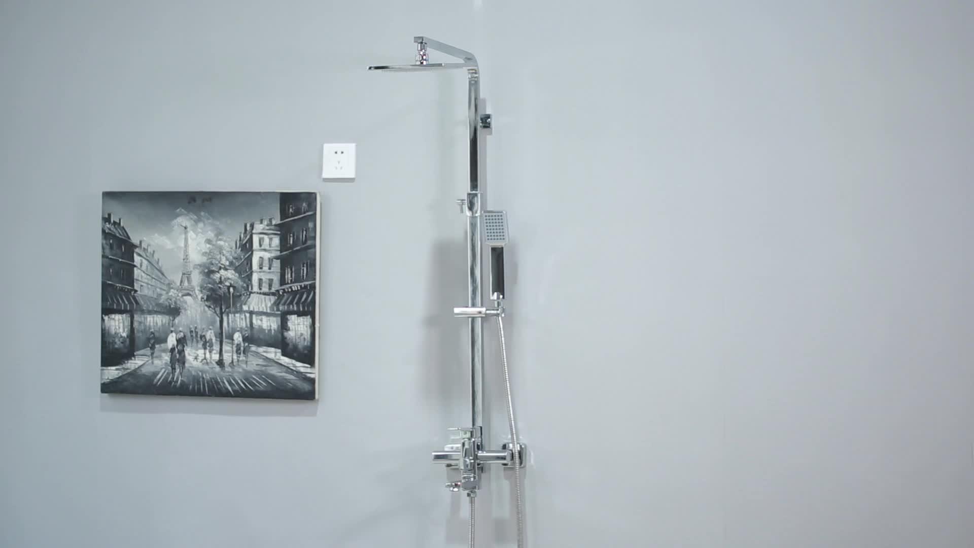G045 vệ sinh phòng tắm mưa mưa vòi hoa sen set, chất lượng cao vòi nước, vòi hoa sen đặt phòng tắm mixer vòi nước