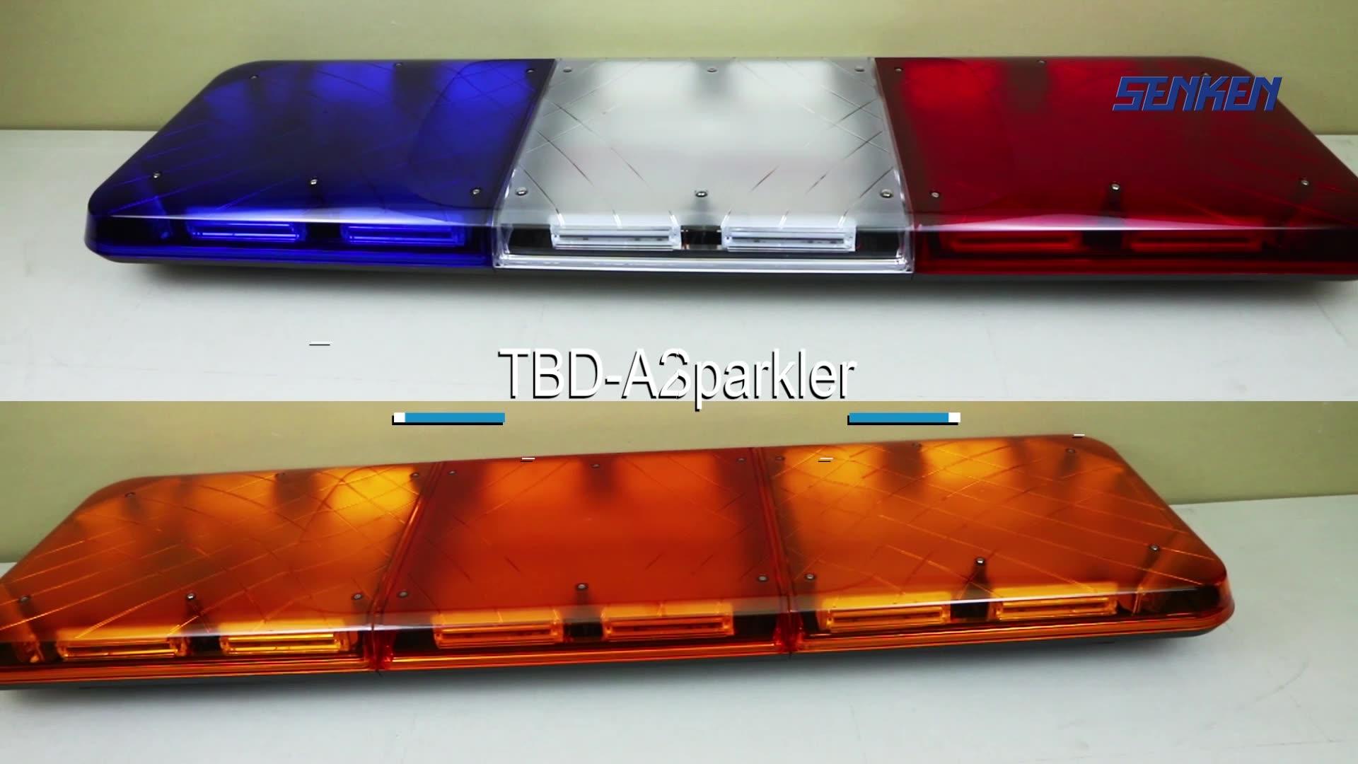 SENKEN 12V/24V polizei krankenwagen R65 helligkeit warnung LED licht bar