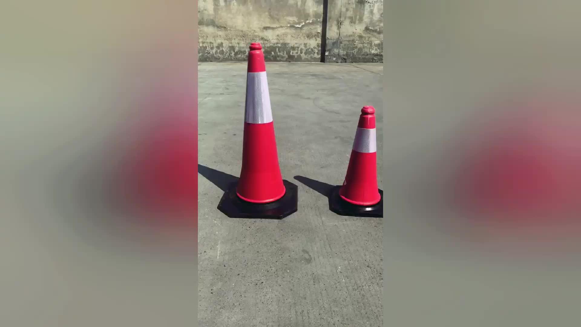 pvc התנועה רעיוני בטיחות קונוסים