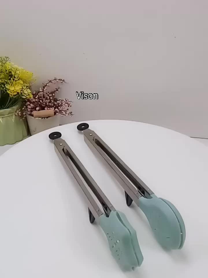 Yardımcı Mutfak BARBEKÜ Araçları yemek maşası Pişirme Araçları Paslanmaz Çelik Turner