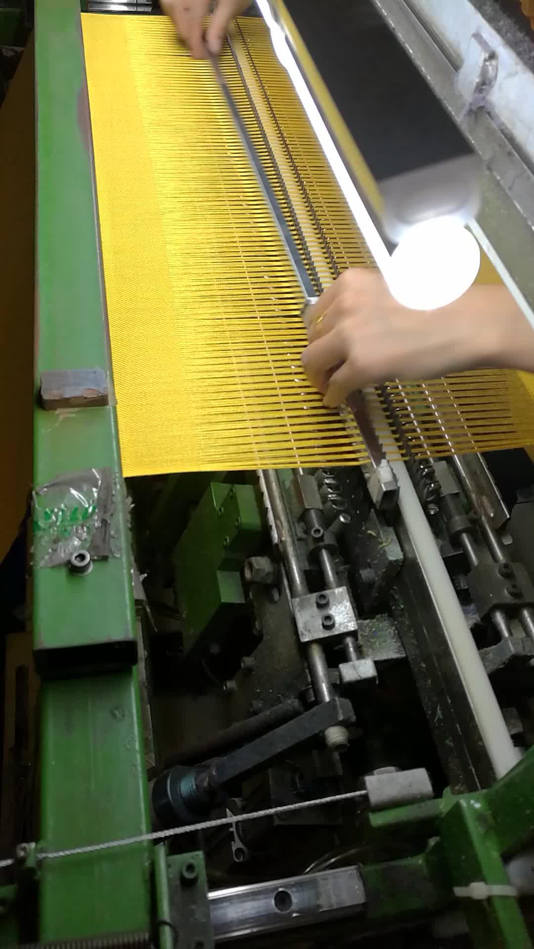 120cm 너비 담요 프린지 Twisting-매듭 기계
