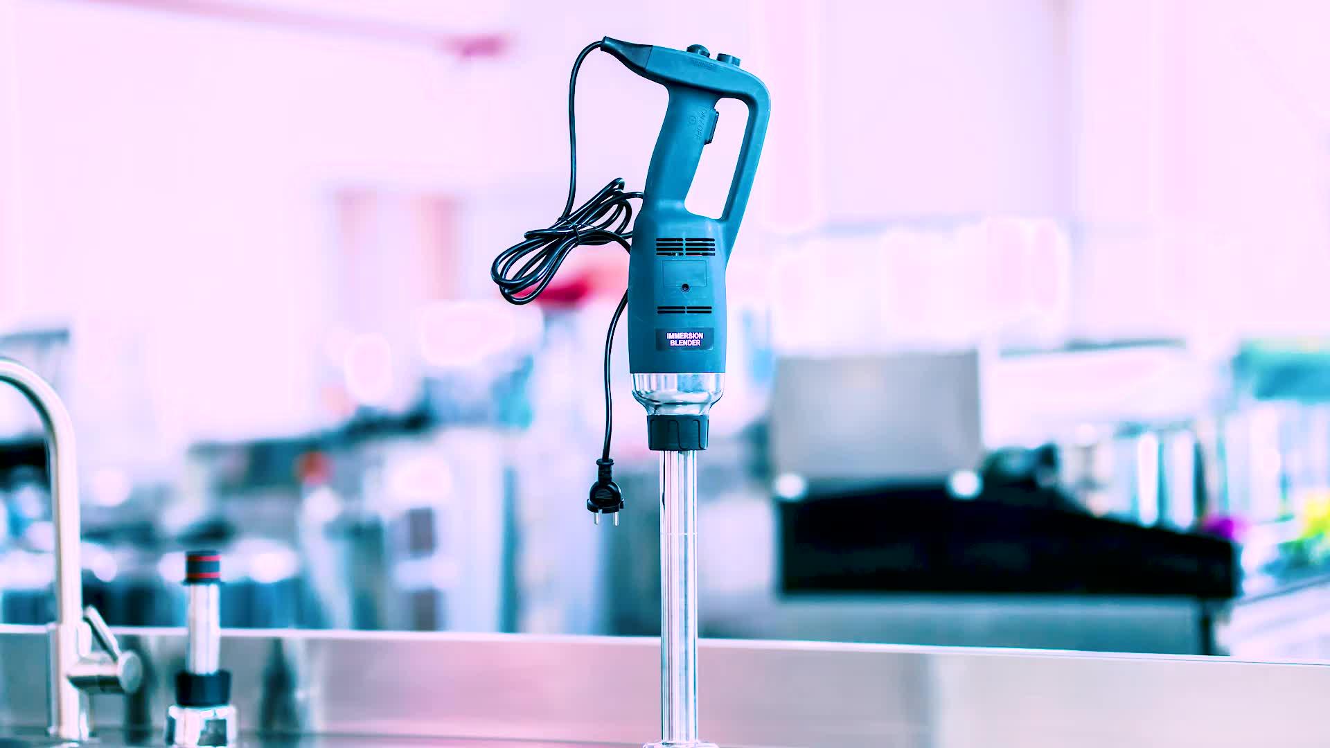 Multifunctionele Keuken Woonkamer Rvs Blades Elektrische Motor Industriële Hand Blender