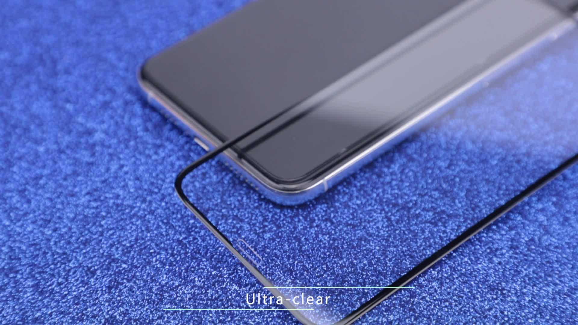 Fabriek Leverancier Groothandel Beste Mobiele Telefoon 0.33mm 9h Gehard Glas Screen Protector Voor iPhone X XR XS max