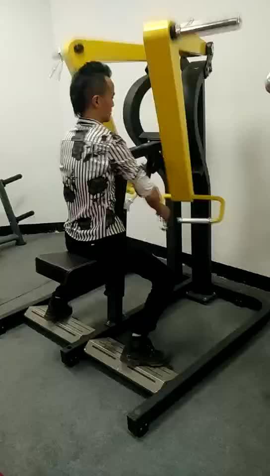 Alta qualidade Guangzhou máquina de remo equipamentos de ginástica força martelo martelo máquinas low row