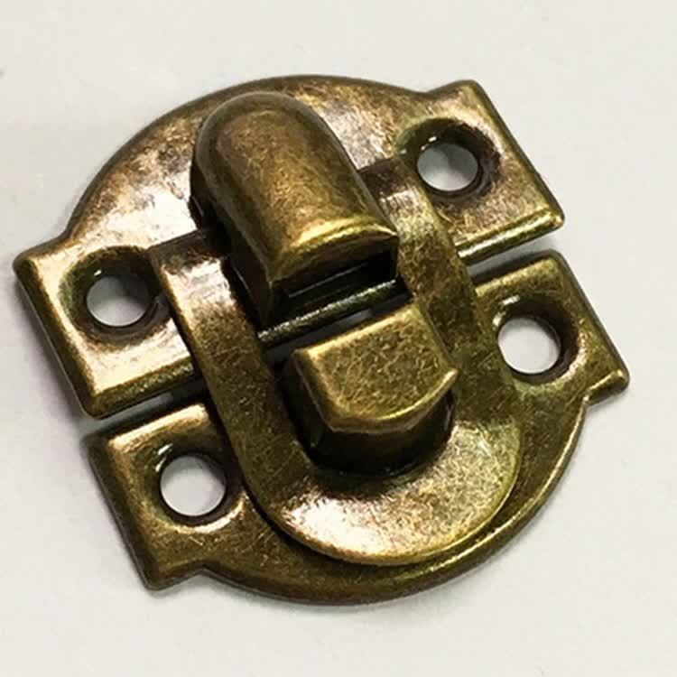 Hardware Accessories Buckles Wooden Box Hasp Lock Retro Jewelry Boxes Latch Boxes Lock Locking Buckle