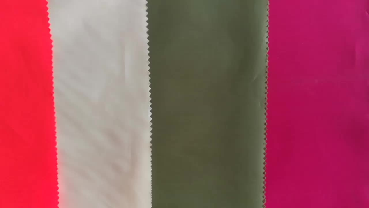 Factory Wholesale Polyester Taffeta 170T 190T 210T Polyester Lining Fabric for Handbag
