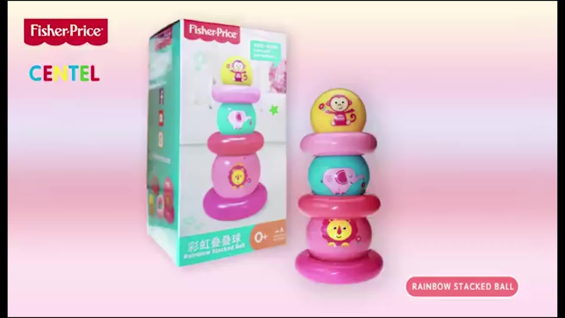 Developmental Game Kids Toys Ball Inflatable Plastic Play Ball Soft Ball Set Develop Baby