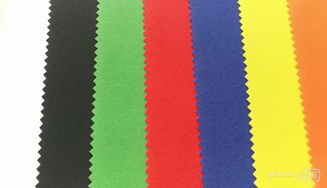 china  wholesale plain 100% polyester 900D fireproof waterproof oxford  fabric for  bags
