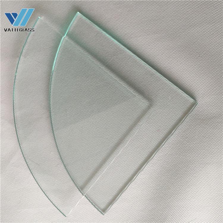 Tempered glass corner shelf bathroom shelf