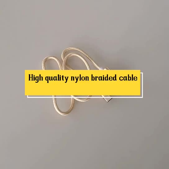 Factory Oem good Usb 2.0 Type C Data Cable with box package