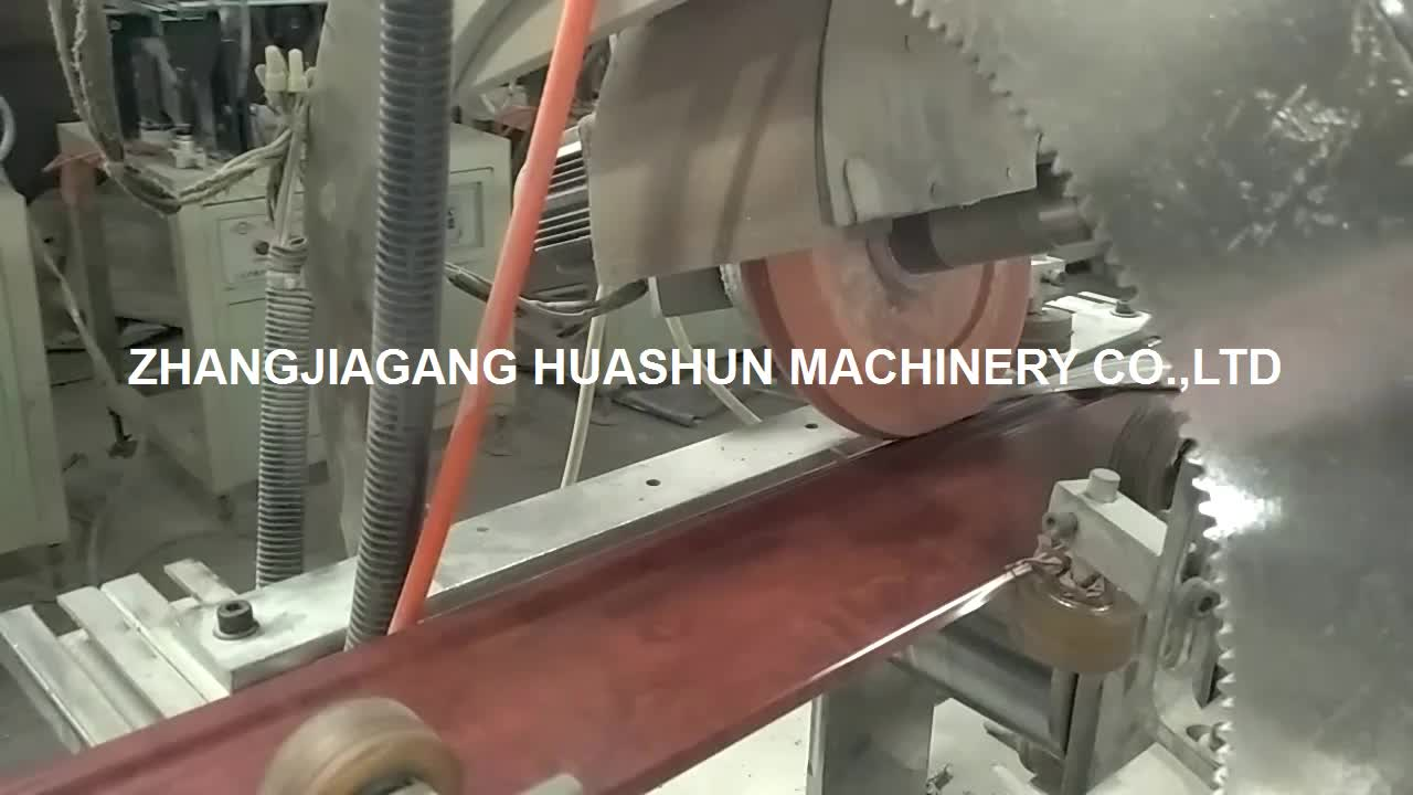 pvc marble stone profile extrusion line for decoration building