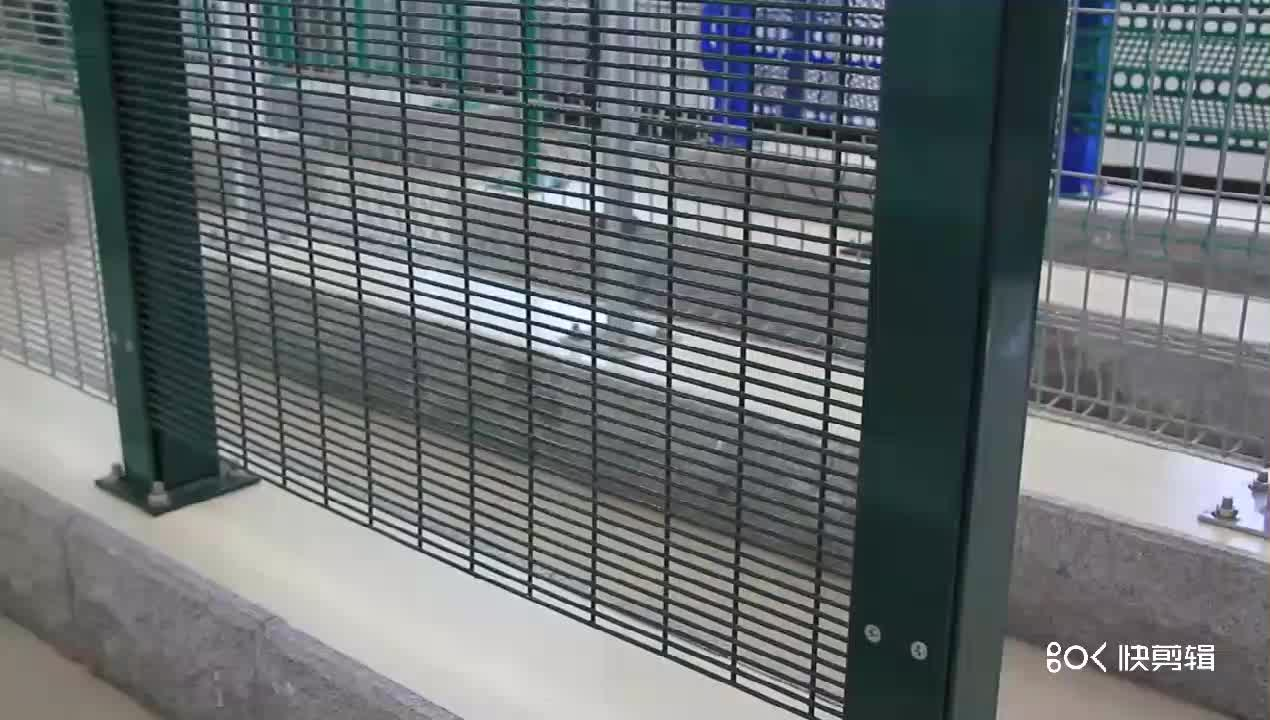 Manufacturer Easily Assembled Galvanized 358 Anti-climb Mesh for Prison