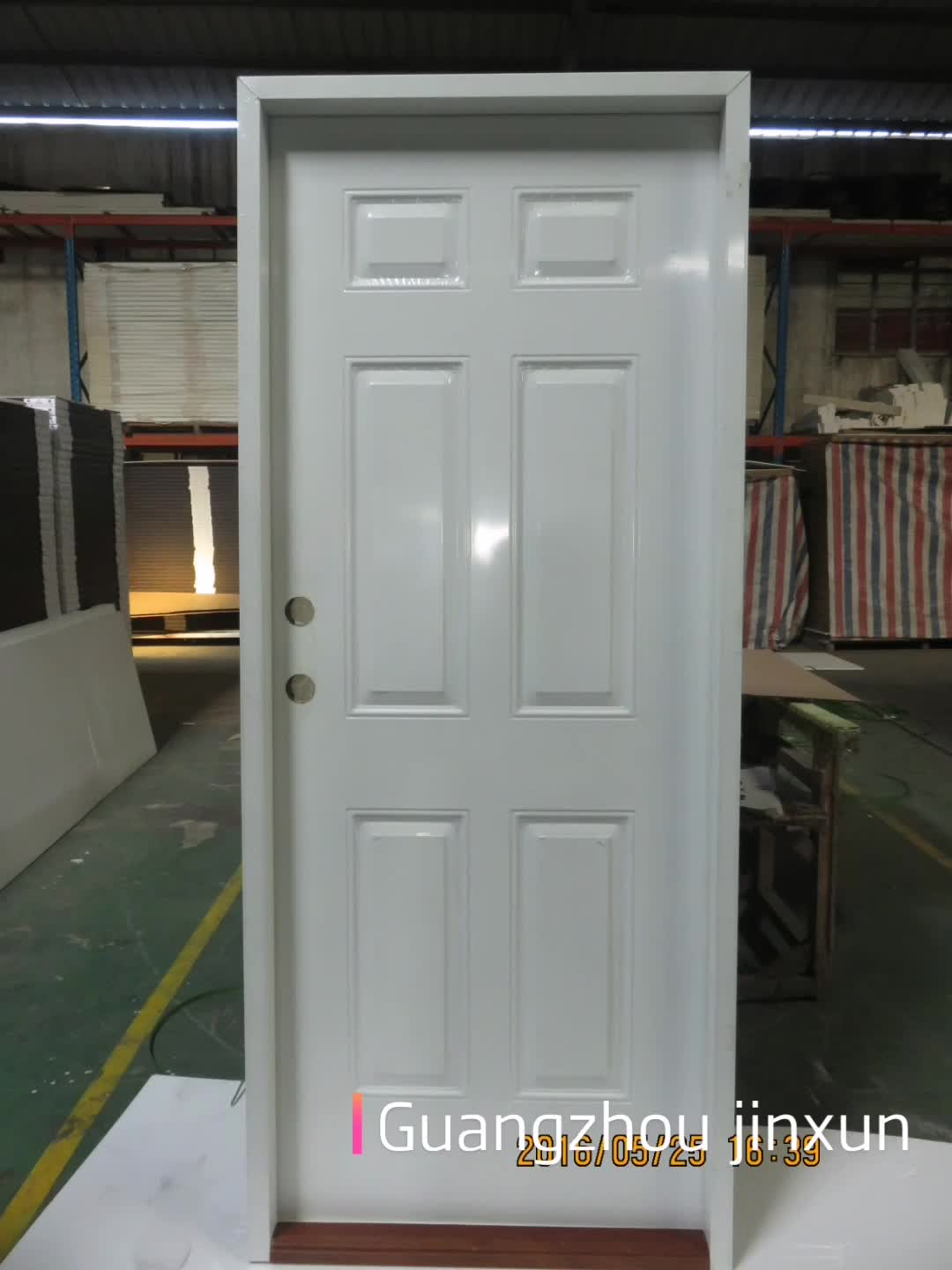 Israeli designer security doors,single door, mother and son door, with bottom bucket and multi lock