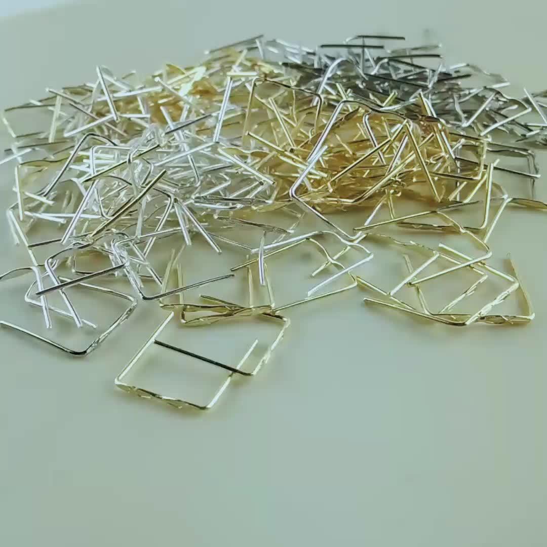 500 pz 12mm cromo quadrato di colore connettore in metallo ganci appesi metallo appeso anelli di cristallo prisma palle