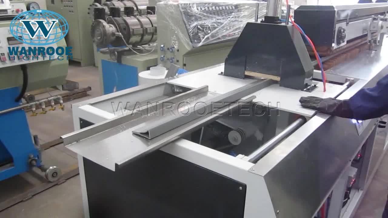 Plastic Frame Extruder PVC Deur UPVC Raam Making Machine