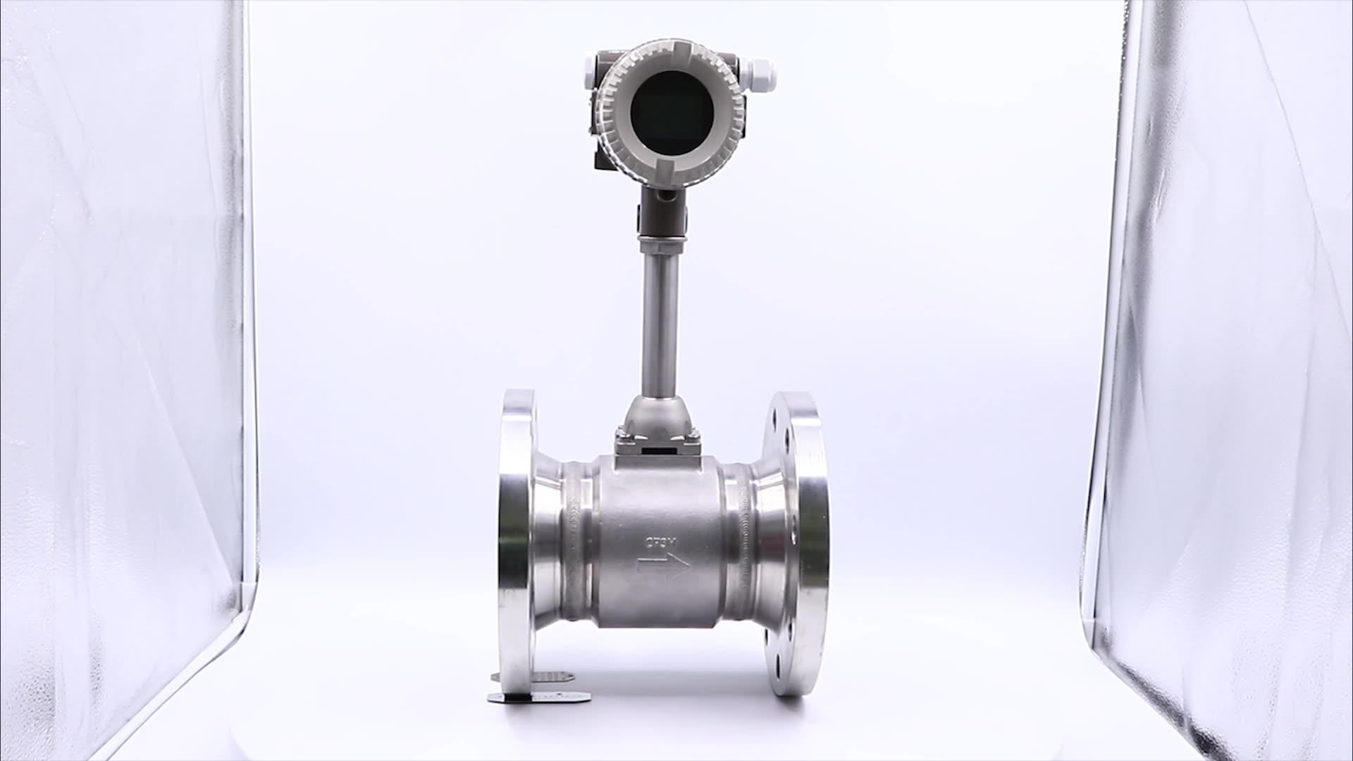 Vortex Flowmeter With Transmitter /Air Flow Sensor/Compressed Air Compressor Manufacture In China
