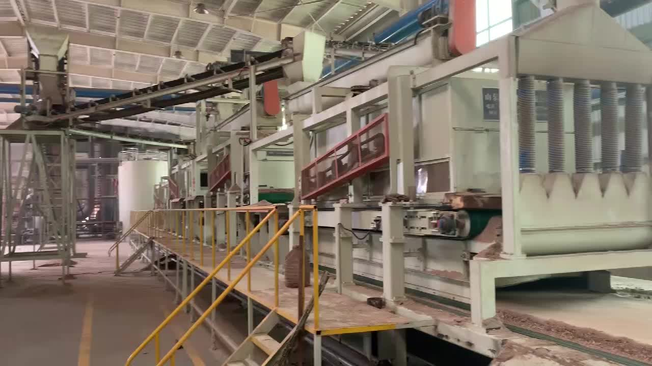 Full automatic complete particle board making machine