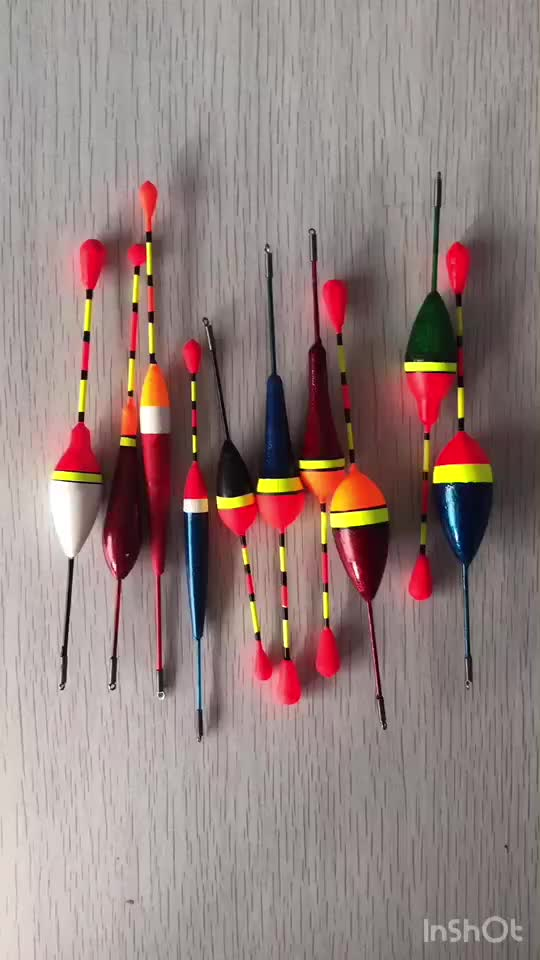 Fishing Floats Set Buoy Bobber Fishing Light Stick Floats Fluctuate Mix Size Color float buoy For Fishing Accessories