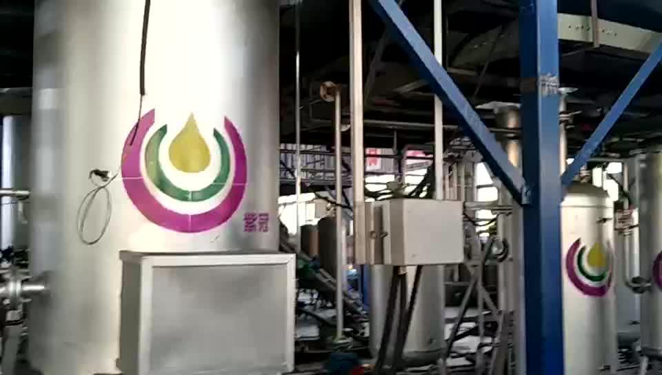 (ce) 完全自動熱分解ディーゼルオイルを蒸留プラント