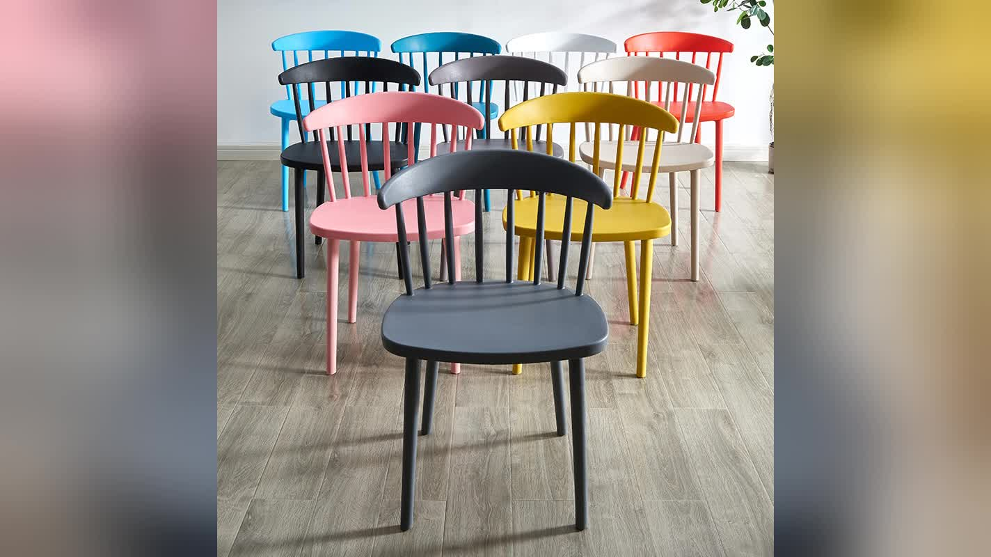 Restaurant furniture china plastic chairs for home
