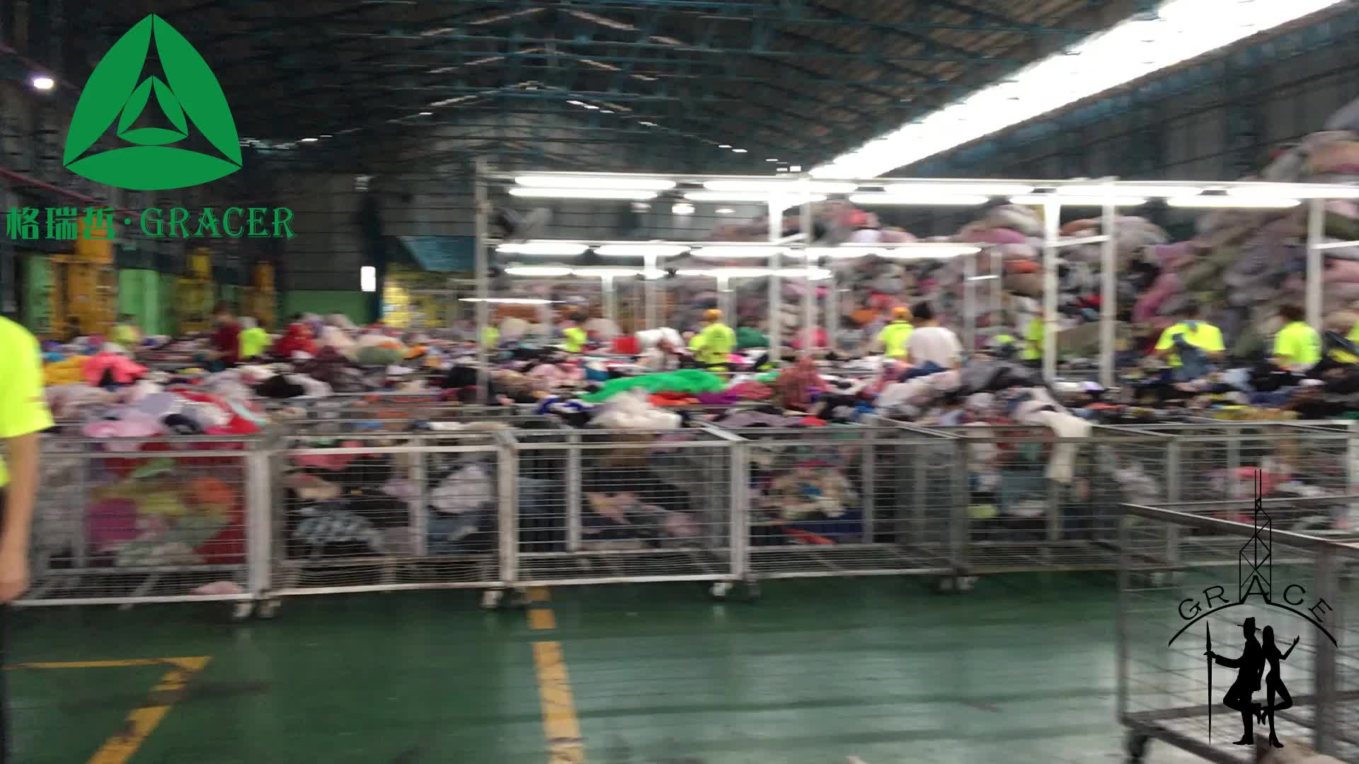 A Grade Quality Clothing Bales Bedsheet 45KG Used Clothes in Korea