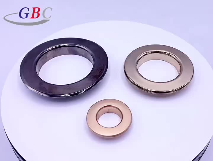 Wholesale round copper curtain eyelet ring for curtain