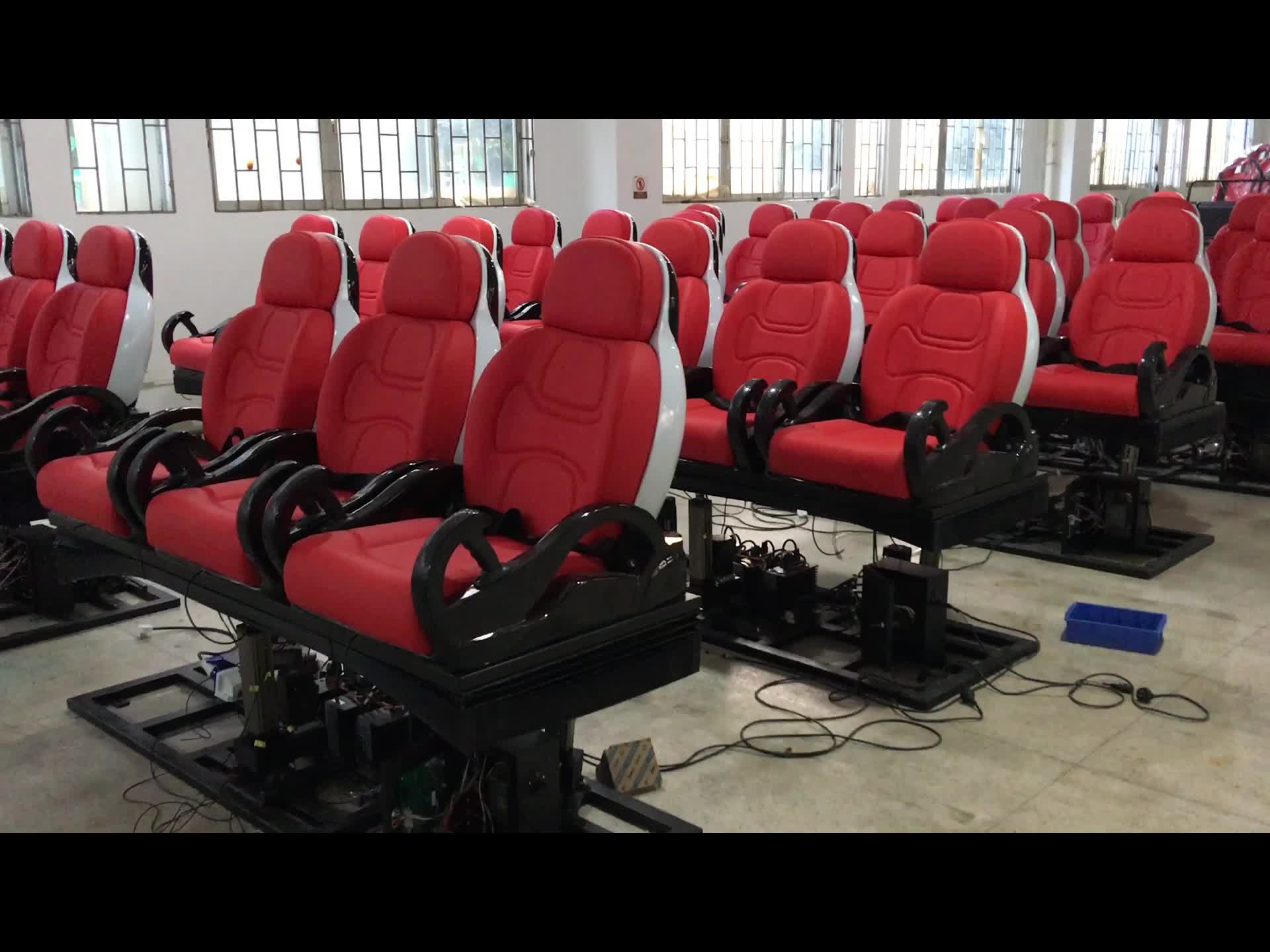 Heart-pounding Electric 5D Cinema Seat 5d Cinema Seat Create Entirely Different Movie Experience