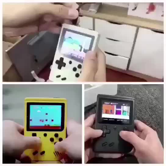 """Hot Retro Game Console for Promotion 3"""" HD Screen 500 In 1 Video Games Handhled TV Gaming Player"""