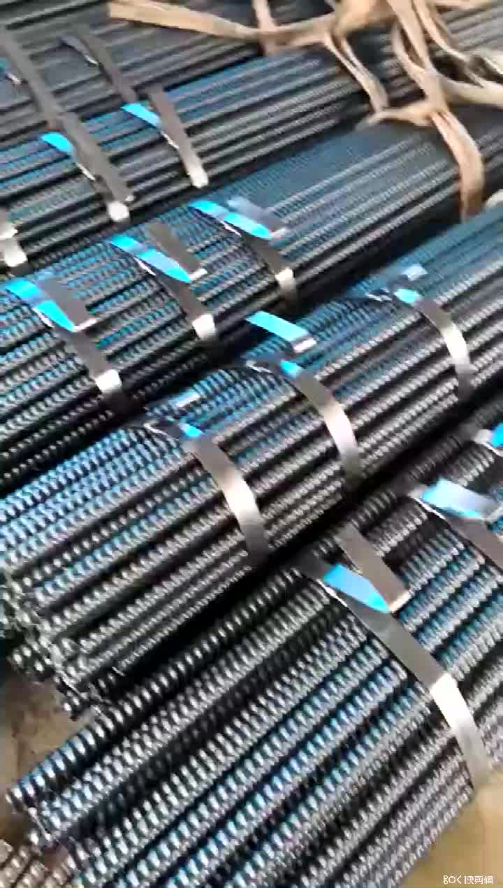 Hollow grouted self drilling tunnel rock bolt mining anchor bolt