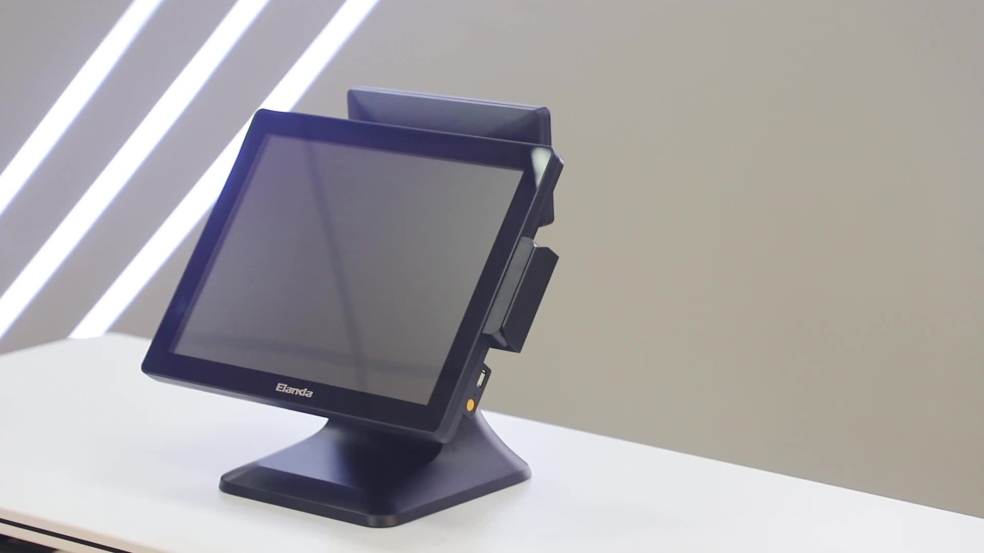 """2019 newest 15"""" touch screen windows possystems machine pos+systems"""