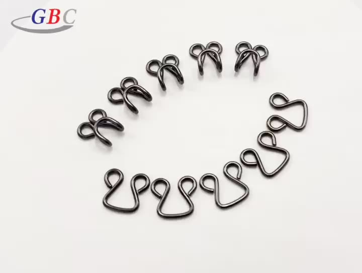 OEM welcomed collar hook and eye for garment clothing